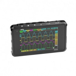 DS203 4 Channel Nano ARM Portable 3'' LCD Screen Digital Oscilloscope 8MB Memory 8MHz 72Mps 4-CH 1000mAh Lithium Battery